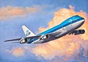 Revell- Boeing 747-200 Revell-F-15E Strike Eagle, Kit de Modelo, Escala 1:144 (3999) (03999), Multicolor