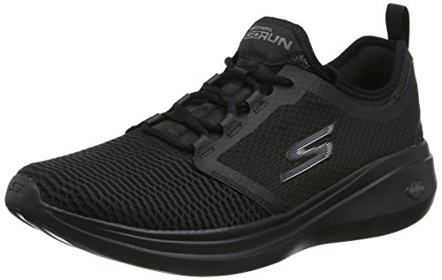 Skechers Performance Go Run Fast, Scarpe Sportive Indoor Uomo, Nero  (Black), 45 EU