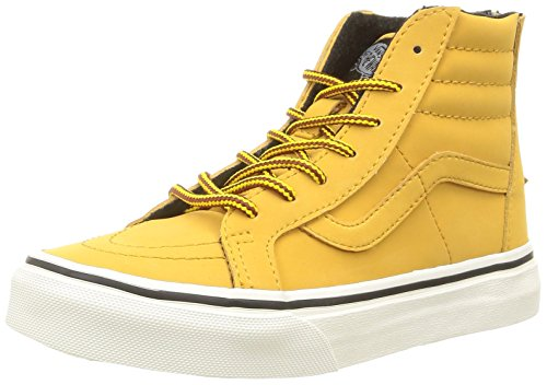 Vans - K Sk8-Hi Zip Mte, Sneakers, infantile, Marrone (Mte/Honey/Leather), 35