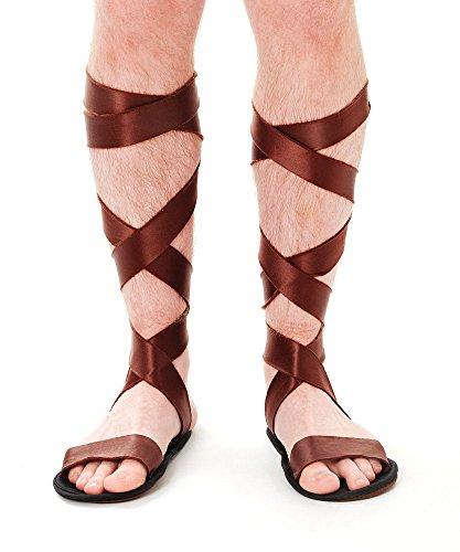 4römischen Sandalen, One size (Griechische Männliche Kostüme)