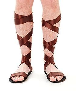 Roman Sandals (Adult Size) (accesorio de disfraz)