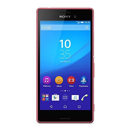Sony Mobile Xperia M4 Aqua Smartphone débloqué 4G (Ecran: 5 pouces - 16 Go - Double Nano-SIM - Android 5.0 Lollipop) Corail