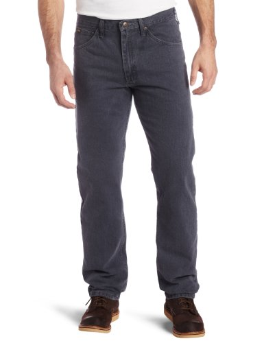 Lee Herren Regular Fit Straight Leg Jeans - Blau - 38W / 34L - Five-pocket-schwergewichts-jeans