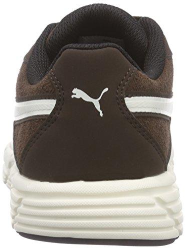 Puma  Axis v4 SD - Scarpe da Ginnastica Basse Unisex - Adulto Marrone (Braun (chocolate brown-white 02))