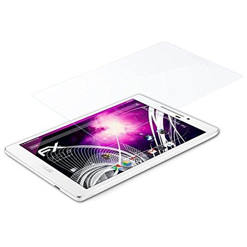 atFolix Glasfolie kompatibel mit Asus ZenPad 7.0 Z370C Panzerfolie, 9H Hybrid-Glass FX Schutzpanzer Folie