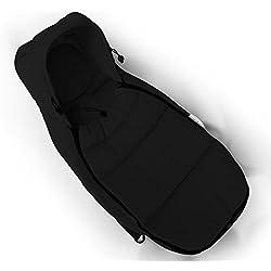 Hot Mom® cochecitos y cuna estándar Equipada Fibra de Carbón de bambú de dormir para 0–6meses bebé (Negro)