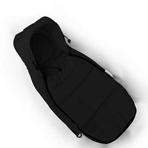 Hot mamma® Passeggino e navicella Standard di carbone di bambù cavo a sacco nanna per neonati da 0-6mesi (Nero) - Bambù Passeggino