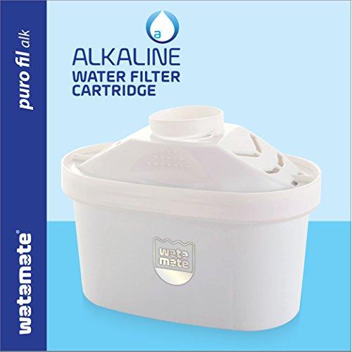 Watamate Puro FIL, Alkaline Cartridge for Watamate Puro ALK Water Filter Pitcher
