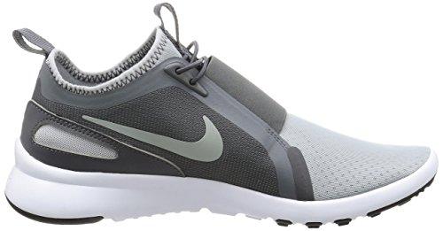 Nike Herren Current Slip On Trainer Grau (Wolf Grey/metallic Silver/dark Grey)