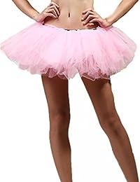 Jupon Tutu de danse femme Couche en dentelle avec Mini-jupe en Organza Style robe