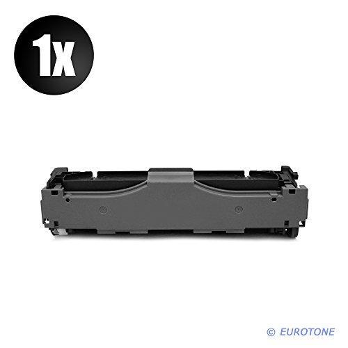 Preisvergleich Produktbild 1x Eurotone Toner für Canon I-Sensys LBP 653 654 Cx Cdw ersetzt 046H BK 1254 C 002 Black