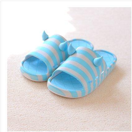DogHaccd pantofole,Pantofole estate pantofole uomini e donne, en-suite bagno antiscivolo bella spessa morbida, soggiorno di un paio di pantofole di plastica Blu chiaro4