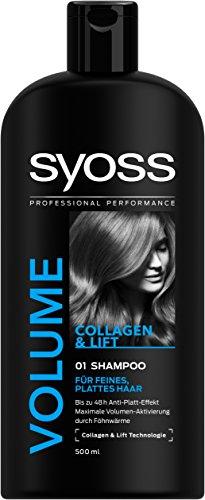 Syoss Volume Collagen und Lift Technologie Shampoo, 6er Pack (6 x 500 ml) - 6k Warenkorb