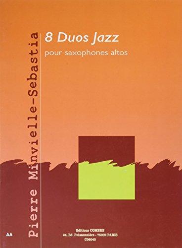 8 Duos jazz pour Saxophones altos