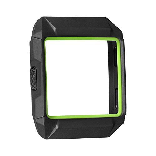 Schutzhülle für Fitbit Ionic,SnowCinda TPU Weich Austausch Schutz Hülle Sport Fitness Ersatz Protection Zubehör für Fitbit Ionic Smart Uhren (Schwarz 4)
