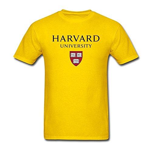 BlessVanish Men's Harvard University T Shirt S