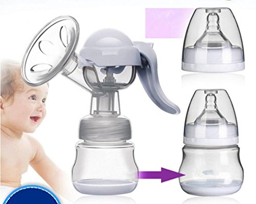 NWYJR Breast Pump confort unique plus proche de Nature prolactine grande succion tire-lait manuel , purple