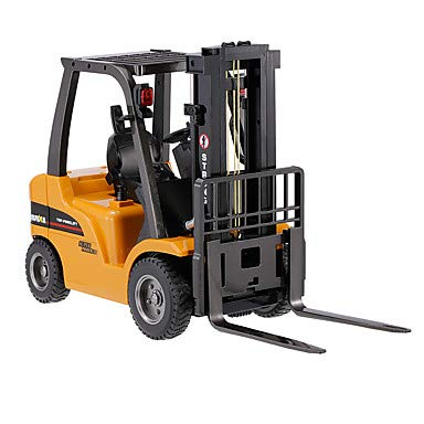 RC Baufahrzeug kaufen Baufahrzeug Bild 1: s-idee® S1577 Rc Gabelstapler und Kran 8 Kanal 1:10 mit 2,4 GHz Huina 1577*