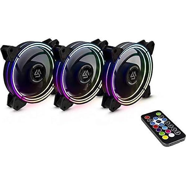 Inter Tech Alseye Halo 3 0 Fan Set 3x Rgb 120mm Fan Elektronik