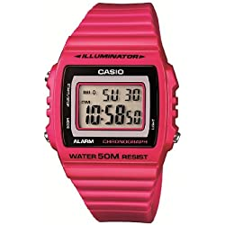 Casio Reloj Digital para Hombre con Correa de Resina – W-215H-4AVEF