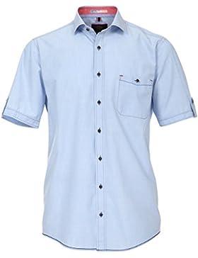 Casamoda - Camisa casual - cuello tab - para hombre