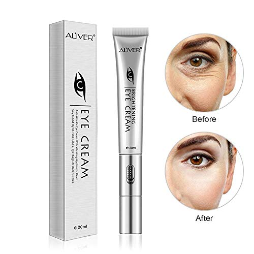 Eulan Hydrating Eye Massager Anti-Aging Eye Cream, 20ml Hydrating Eye Serum Gel for Puffy Eyes, Dark...