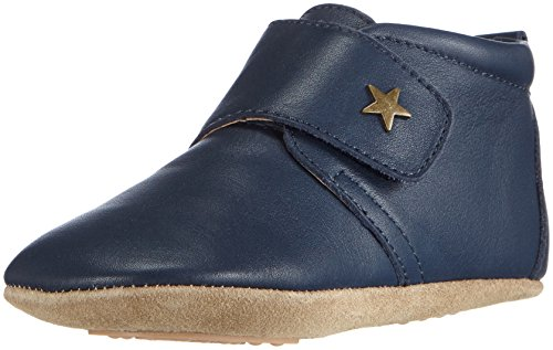 Bisgaard Velcro Star 12301999, Krabbelschuhe, Blau (21 Navy 21), 18 EU (UK Child 2) (Velcro Schuh Navy Casual)