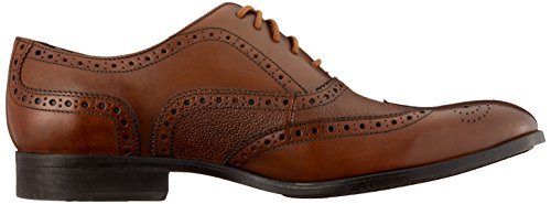 Clarks Herren Gilmore Limit Brogues Braun (Tan Leather)