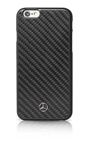 Galleria fotografica Mercedes Dynamic - Custodia rigida in fibra di carbonio per Apple iPhone 6 Plus/6S Plus, colore: nero