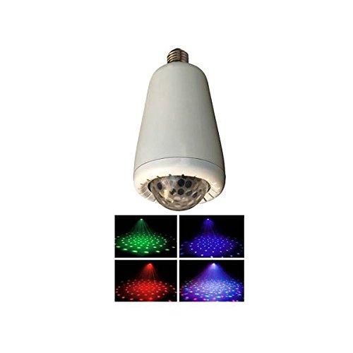 Proel WAPS S0213W LED Kristall Kugel in rot grün und blau mit Fernbedienung NEU (Partei-lichter Laser)
