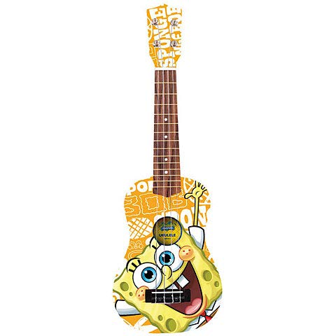 SpongeBob-Ukulele aus Holz, SBUK3, Orange