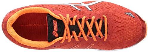ASICS - Gel-Ds Trainer 19, Scarpe Da Corsa da uomo 2101-Red/White/Flash Orange