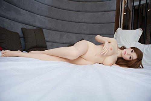 3D Sexpuppe Lebensecht für Männer mit stabilem Metallskelett 3 Öffnungen Oral Anus Vagina(138cm 24kg) -