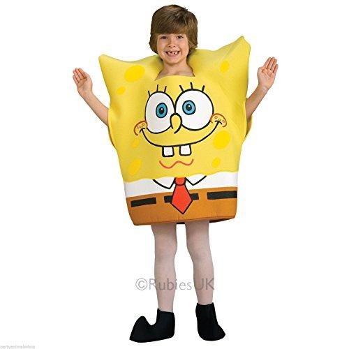 Generique - Spongebob Schwammkopf-Kostüm für Kinder