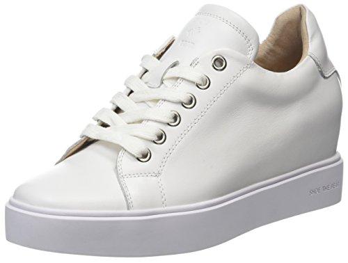 Shoe The Bear Damen AVA L Sneaker, Weiß (White 120), 37 EU