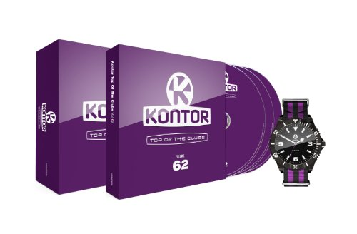 Preisvergleich Produktbild Kontor Top of the Clubs Vol.62 (Limited Edition inkl. Armbanduhr)