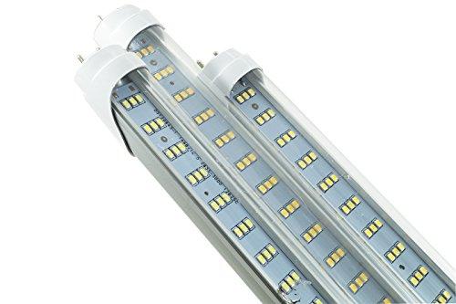 Plafoniere Neon 120 Cm : Neon led w cm luce calda smd trasparente t