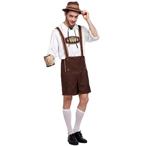 Deutschen Mann Lederhosen Kostüm - thematys Oktoberfest Kostüm Trachten-Set - Kostüm-Set