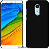 Xiaomi Redmi 5 Back Cover, Case Creation TM Hard Back Case Cover For Xiaomi Redmi 5/Redmi 5 2018/Mi Redmi5 5.7-inch (Launched On 20 March 2018)- Pitch Black (New January Launched)