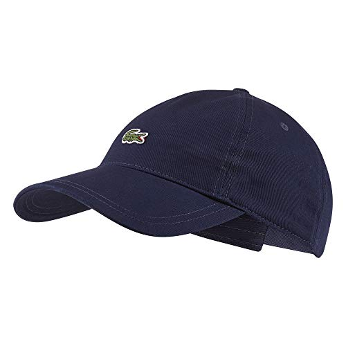 Lacoste RK4863 Herren Baseball Cap,Männer Schirmmütze,Baseball Mütze,Kappe,Navy Blue(166),One Size (TU) Navy Blue Cap