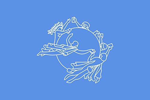 Unione Postale Universale Bandiera 20x30cm per Diplomat-Flags Bandiere per Auto