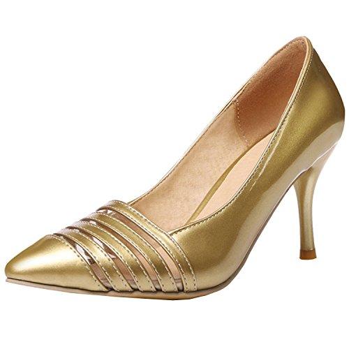 Azbro, Scarpe col tacco donna Oro
