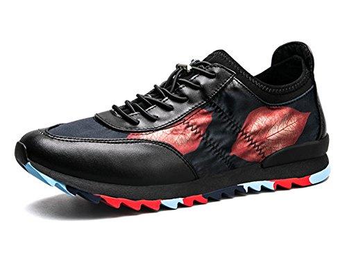 Hommes Chaussures De Course 2017 Nouveau Motif 3D Chaussures Décontractées Extérieures Confortables Chaussures Légères De Remise En Forme Baskets