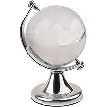 Plata Cristalina Soporte Pisapapeles Regalo De La Boda Del Globo Del Mundo Vastu Feng Shui