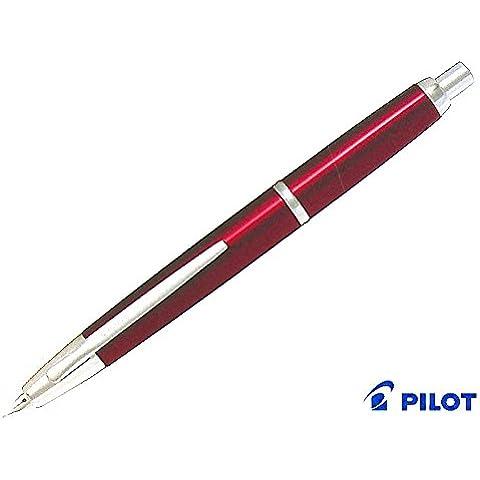 Pilot Capless Decimo Fountain Pen RED -