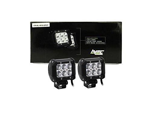 2x AVEC Marke 18W CREE Spot Light LED-Arbeitsleuchte Bars Pods Bottom Mount -