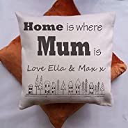 Personalised Mothers Day Cushion-ORDER BY WEDS 18TH MARCH 2020 FOR MOTHER'S DAY Gift for Mum-Grans Gift-Na