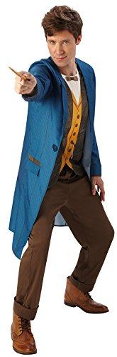 Rubies s oficial fantástico bestias Warner Bros Newt Scamander Deluxe Adult Costume