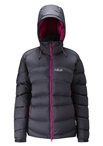 Rab Jackets - Rab Women's Ascent Jacket - Belug... (Womens Jacket Ascent)