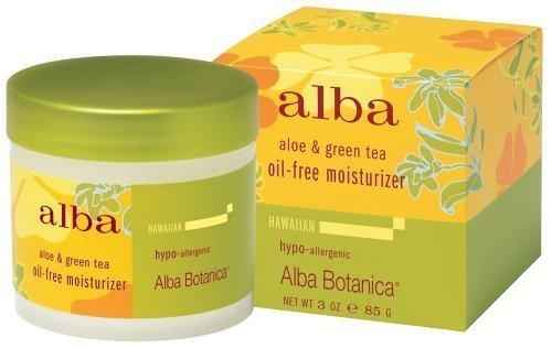 Tea Oil Free Moisturizer (Alba Botanica Oil Free Aloe Vera & Green Tea Moisturizer 90 ml by Alba Botanica)